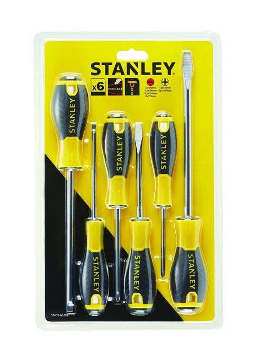 Stanley STHT060209 6 Parça Tornavida Seti Büyük