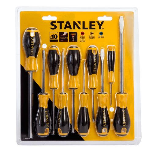 Stanley STHT060211 10 Parça Tornavida Seti