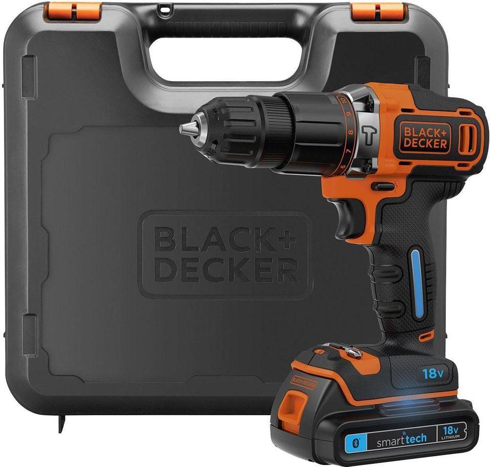 Black&Decker BDCHD18KST 18Volt/1.5Ah Li-ion Çift Akülü 2 Vitesli Darbeli Matkap + Powerbank