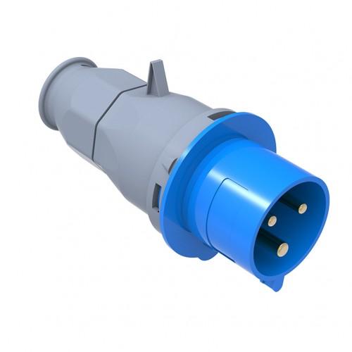 CEE Norm Düz Fiş 3X32A 2P+E220V IP44 50-60Hz. 6H BC1-3403-2011