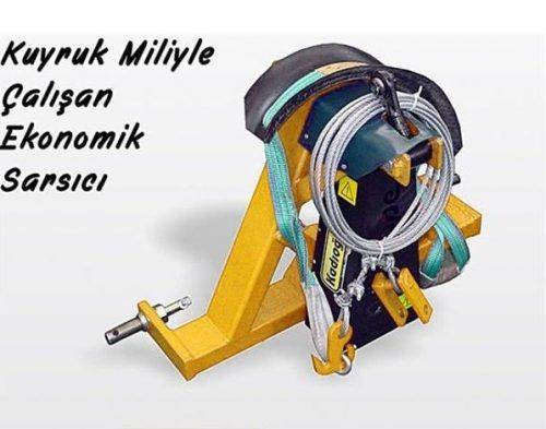Traktör Tahrikli Vibrope Ceviz, Vişne, Dut, Badem Silkeleme Makinesi