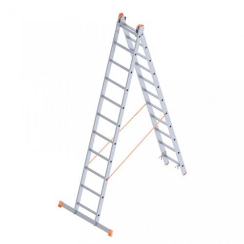 Saraylı 2x11 A Tipi 6mt. Endüstriyel Merdiven