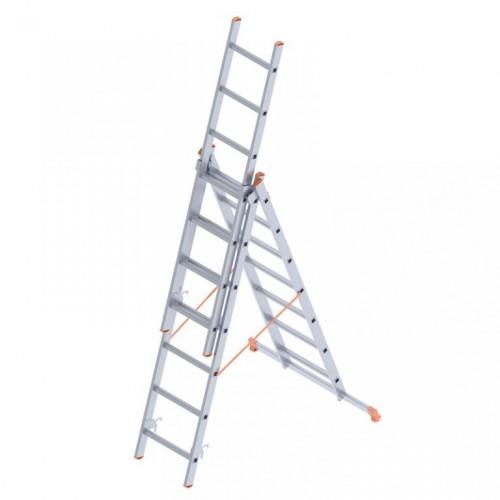 Saraylı 3x7 A Tipi 6mt. Endüstriyel Merdiven