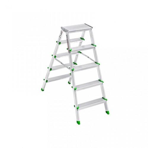Saraylı Alüminyum Merdiven 5+5 Çift Taraflı