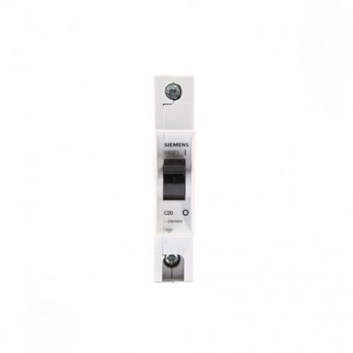 Siemens 5SQ2 170-2YA20 C Tipi 1x20 A Anahtarlı Otomatik Sigorta
