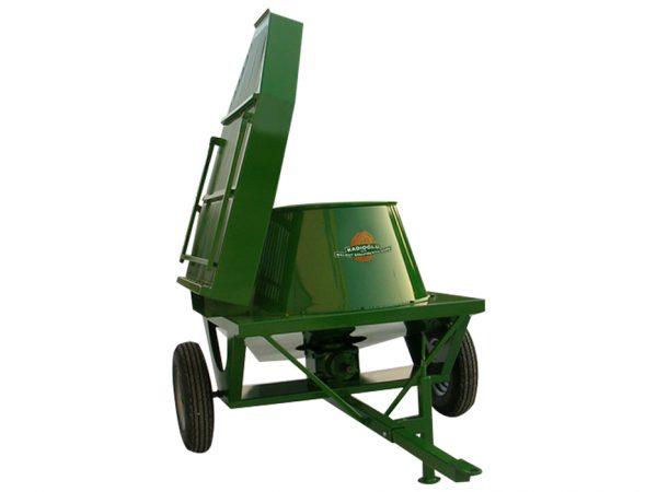 Traktörle Çalışan Sehpalı Zımparasız Ceviz Soyma Makinesi