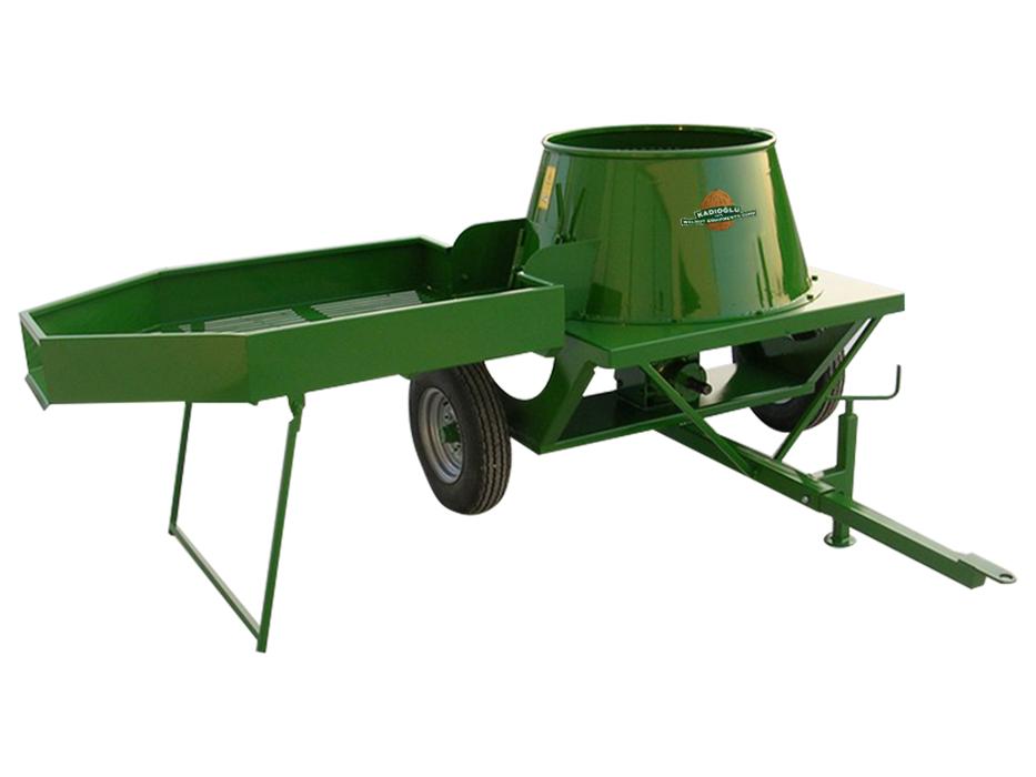 Traktörle Çalışan Sehpalı Zımparasız Ceviz Soyma Makinesi - 180 Litre - 07 Mağaza