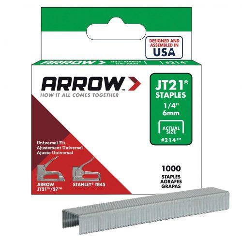 Arrow AR214 6mm 1000 Adet Profesyonel Zımba Teli