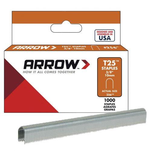 Arrow AR256 10mm 1000 Adet Profesyonel U Tipi Zımba Teli