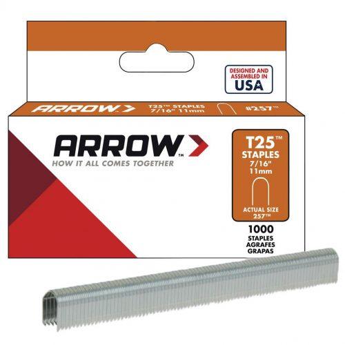 Arrow AR257 11mm 1000 Adet Profesyonel U Tipi Zımba Teli