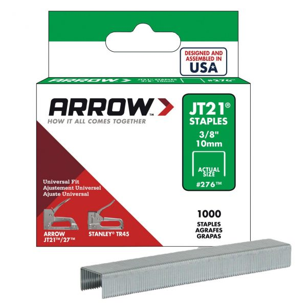 Arrow AR276 10mm 1000 Adet Profesyonel Zımba Teli