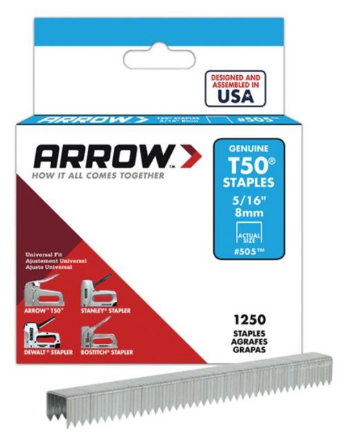 Arrow AR505 8mm 1250 Adet Profesyonel Zımba Teli