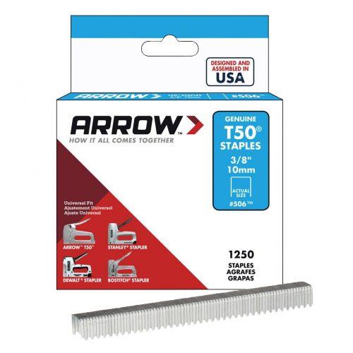Arrow AR506 10mm 1250 Adet Profesyonel Zımba Teli