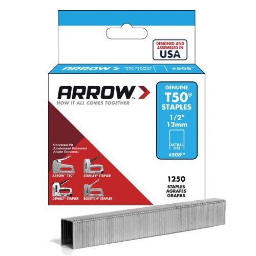 Arrow AR508 12mm 1250 Adet Profesyonel Zımba Teli
