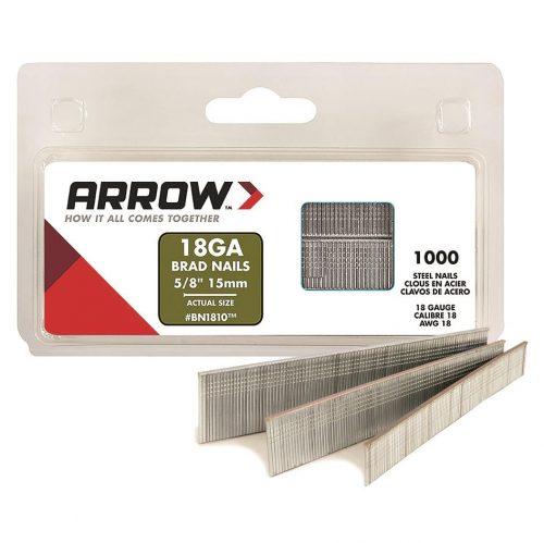 Arrow BN1810 15mm 1000 Adet Profesyonel Kesik Başlı Çivi