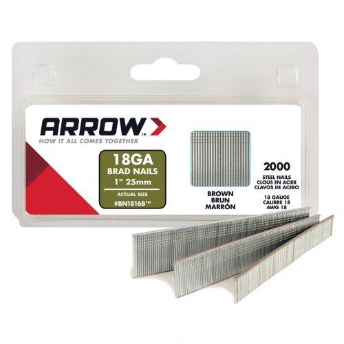 Arrow BN1816 25mm 2000 Adet Profesyonel Kesik Başlı Çivi