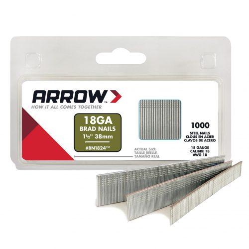 Arrow BN1824 38mm 1000 Adet Profesyonel Kesik Başlı Çivi