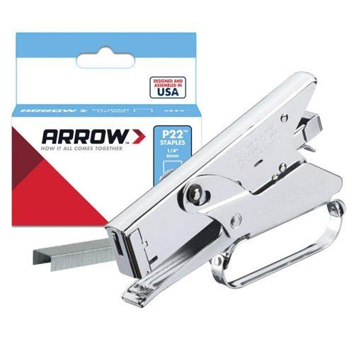Arrow P22 6-8mm Profesyonel Pense Tipi Mekanik Zımba Tabancası + 5050 Adet Zımba