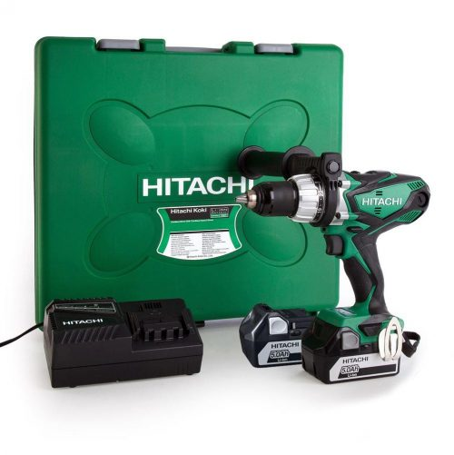 Hitachi DV14DSDL 14.4Volt/5.0Ah Li-ion Çift Akülü Profesyonel Darbeli Matkap