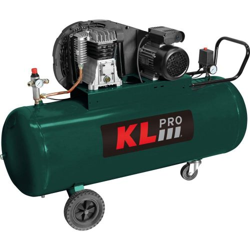 KLPRO KLK200T 3HP 200Lt 10Bar Trifaze Hava Kompresörü
